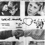 Cartel promocional Del Rosa al Amarillo